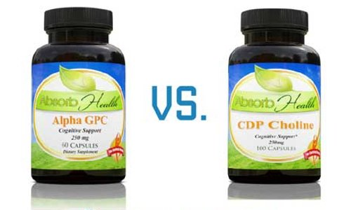Alpha GPC vs CDP Choline